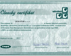 Členství ve sdružení DDD