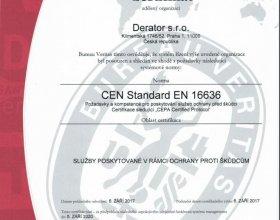 Prestižní certifikace CEPA - BUREAU VERITAS